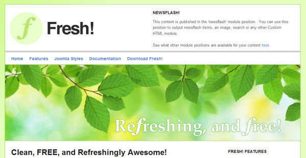 free-joomla-template-fresh