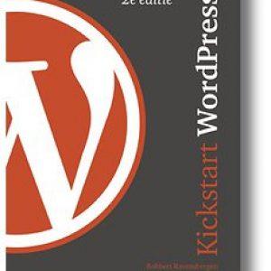 Nederlands WordPress boek Kickstart WordPress