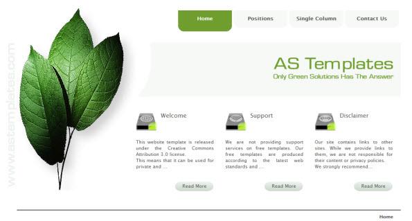 Gratis joomla 1.6 template van astemplates.com