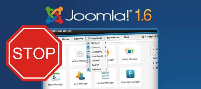 Joomla 1.7 betekent ook einde voor versie 1.6