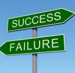 Failuren and success signs