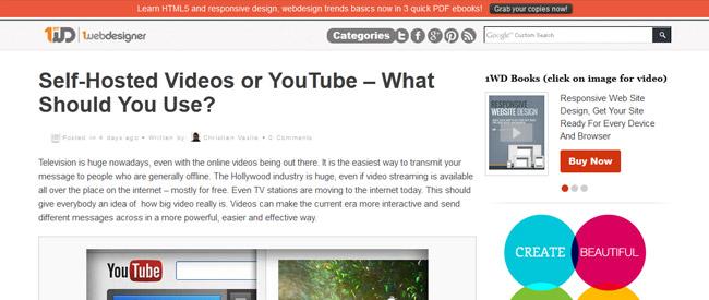 Webdesignblog 1st webdesigner