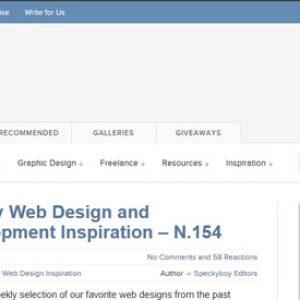 Webdesign blog Speckyboy