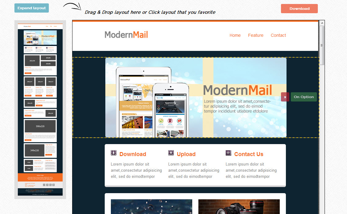 De beste mailchimp templates van dit moment for Mailchim templates