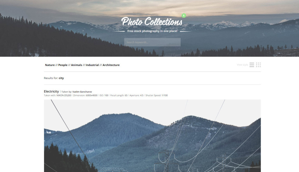 Gratis Foto collections